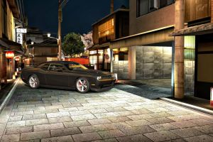 Pulling out of the garage GT5 by whendt