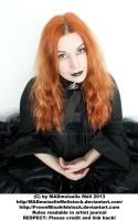 Female Gothic Aristocrat Stock 002 by MADmoiselleMeliStock