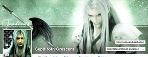 Sephiroth Facebook Cover by Athraxas