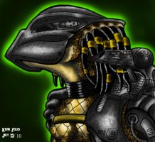 Predator Close Up by GRIDALIEN