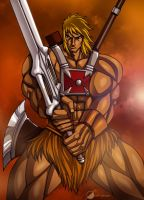 Commission: He-man by Osmar-Shotgun