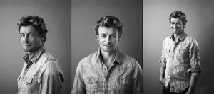 Simon Baker Wallpaper by roguemika