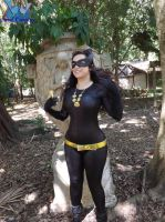 Julie Newmar's catwoman cosplay! by Carollinae