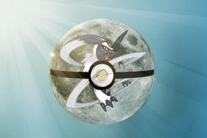 Pokeball Absol by roebot01