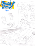 Drunk Duck High- cover page by Empty-Brooke