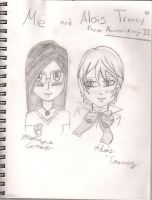 Me and Alois by K2BunnyStyleFan