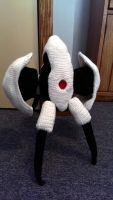 Crocheted Portal Turret by Yodaman921