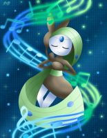 Meloetta - Relic Song by Rose-Beuty