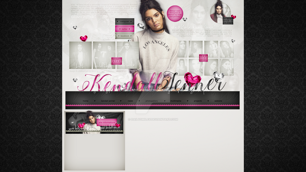 Premade for blog.cz (Kendall Jenner) #2 by dailysmiley