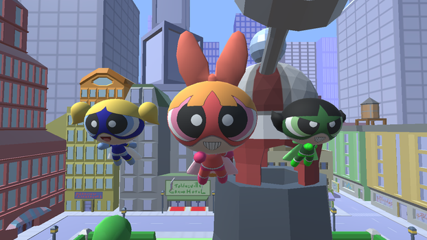 The Super Puffs (PPG Creator) by Death-Driver-5000