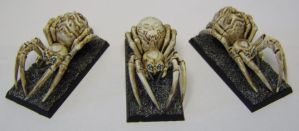 MORDHEIM Giant Spiders by FraterSINISTER
