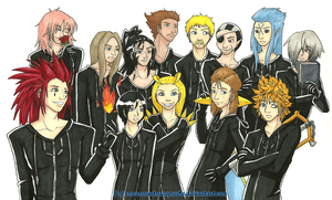 org XIII, bitches by roxaswantsacupcake