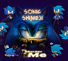 Sonic The Hedgehog Shimeji by Gigi-D