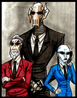 Separatist's in.. suits.. by PurpleRAGE9205