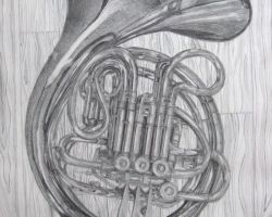 French Horn by Alexgoesglobal