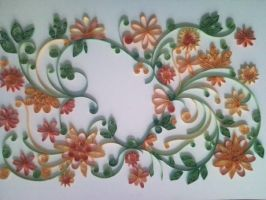 Quilled Flowers by nellanova
