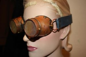 Goggles  metal by Marseau