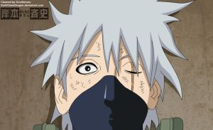 Sharingan Kakashi is alive by DarkFlameDragon