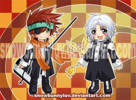 DGM- Lavi and Allen by snowbunnyluv