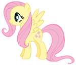 Fluttershy vector by Durpy