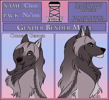 WoLF Gender Bender Meme - Circe by ImAHungryNacho