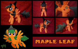 Maple Leaf Plushie by Heilos