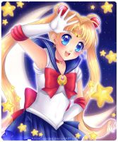 The One Named Sailor Moon by AikasCupcake