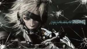 Raiden//Damaged - HD Wallpaper by PokeTheCactus
