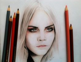 Cara Delevingne by SofiaAliens