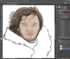 John Snow by wombat72