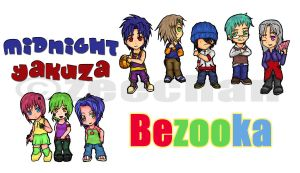 M.Y. and Bezooka Chibis by zeechan