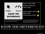 Know the Difference by Thrythlind