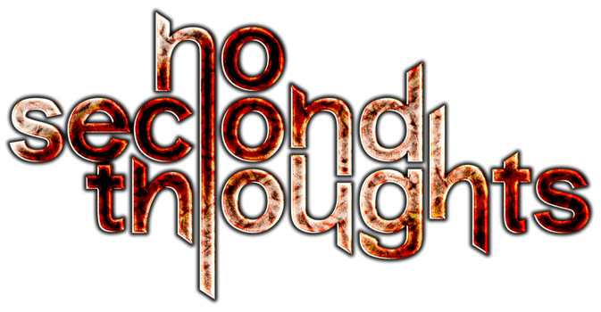 No Second Thoughts logo by giodim