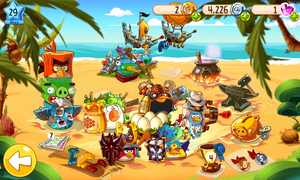 My Angry Birds Epic Team by AngryBirdsStuff