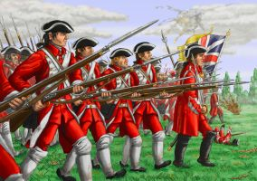 Redcoats advance! by Blackadder02