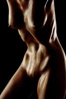 Oiled Figure by Solus-Photography