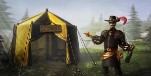 Thulios Tent by Zerrnichter