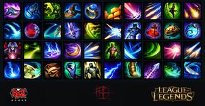 League of Legends Icons by Cpt-Crandall