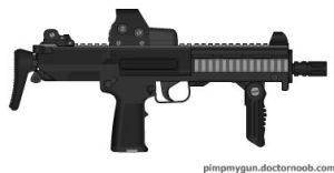 S-MP7 V2 by Epicsunrise