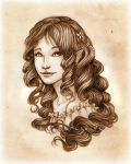 Portrait Commission: Aurea by SerenaVerdeArt