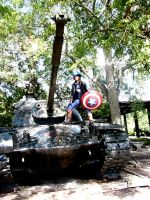 Captain America Cosplay 7 by foxsilong