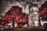 White tower of autumn by Behindmyblueeyes