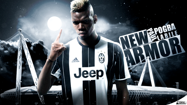 Paul Pogba ( Juventus ) Wallpaper by LuisGFXSoccer