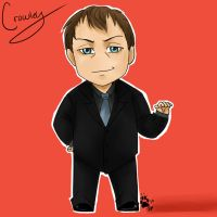 Crowley by Supernatural-Fox