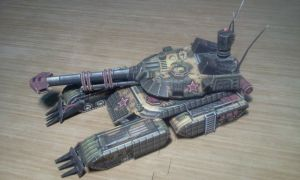 RotR Sentinel Papercraft (Full upgrade with ERA) by n5p29