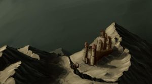 Mountain Fortress by mhofever