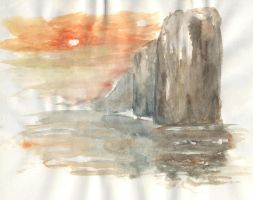 Aquarelle from the tuto by zebree