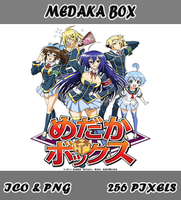Medaka Box Anime Icon Myk by Myk-2103