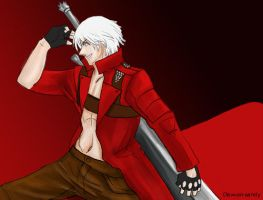 DMC3 Dante by Dew-on-sandy