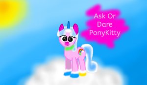 Ask or Dare ponyKitty by rosetyeler2334